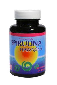 spirulina hawajska najlepsza jest w tabletkach