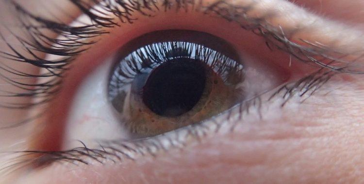 oko z objawami jaskry