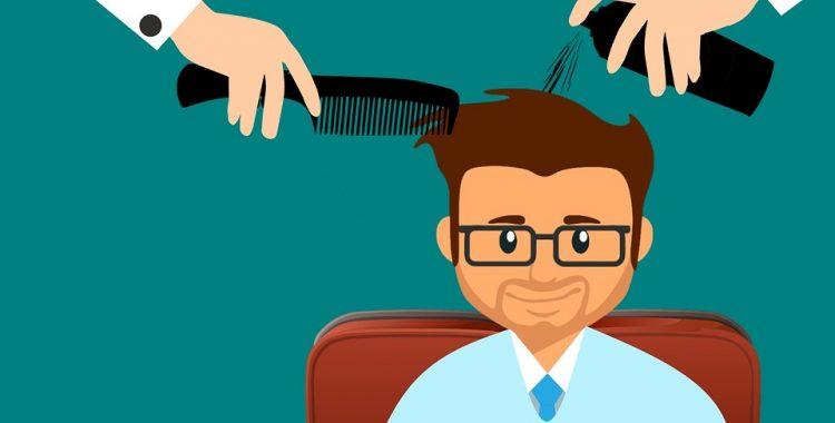 zabiegi na włosy męskie